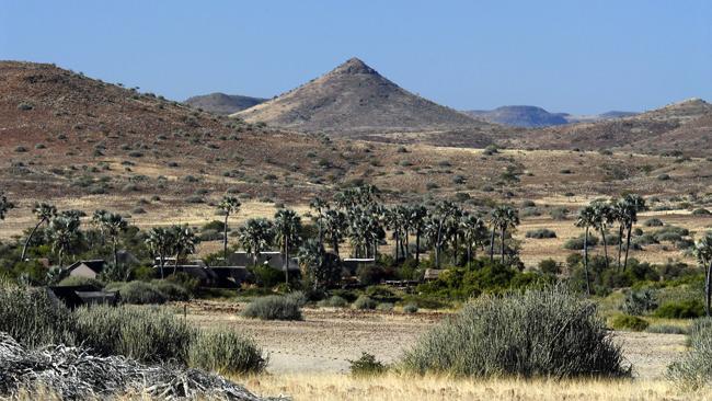 Lage der Palmwag Lodge in Namibia | Abendsonne Afrika