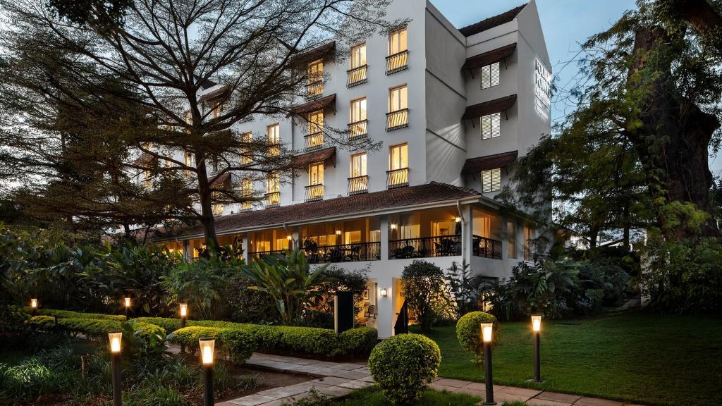 Arusha Hotel, Arusha, Tansania | Abendsonne Afrika