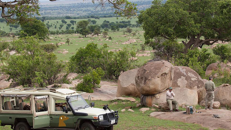 Header Tansania Exklusiv - Classic   Abendsonne Afrika