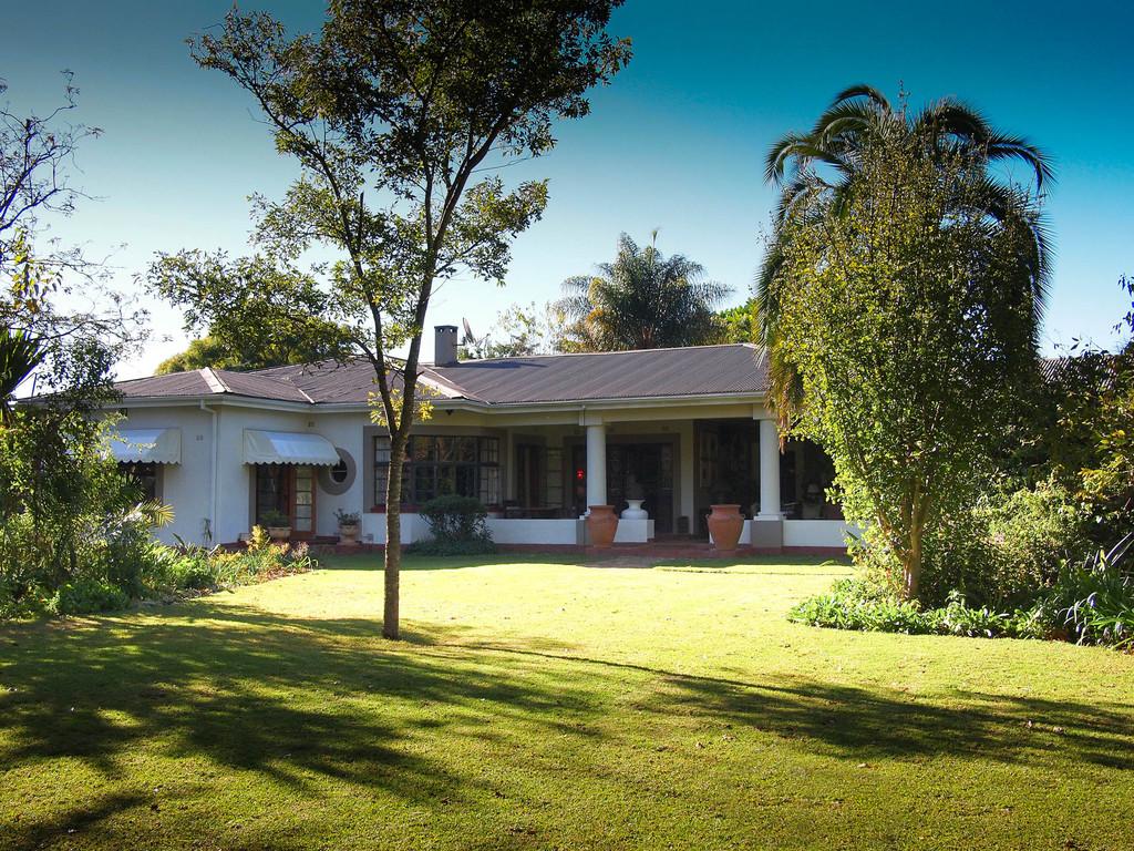 Anlage der Armadale Lodge in Simbabwe | Abendsonne Afrika