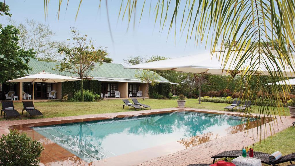 Pool im Perry's Bridge Hollow in Südafrika | Abendsonne Afrika