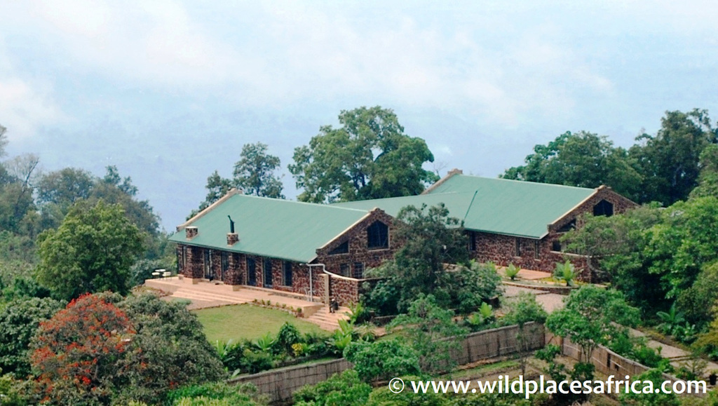 Anlage der Clouds Mountain Gorilla Lodge in Uganda | Abendsonne Afrika