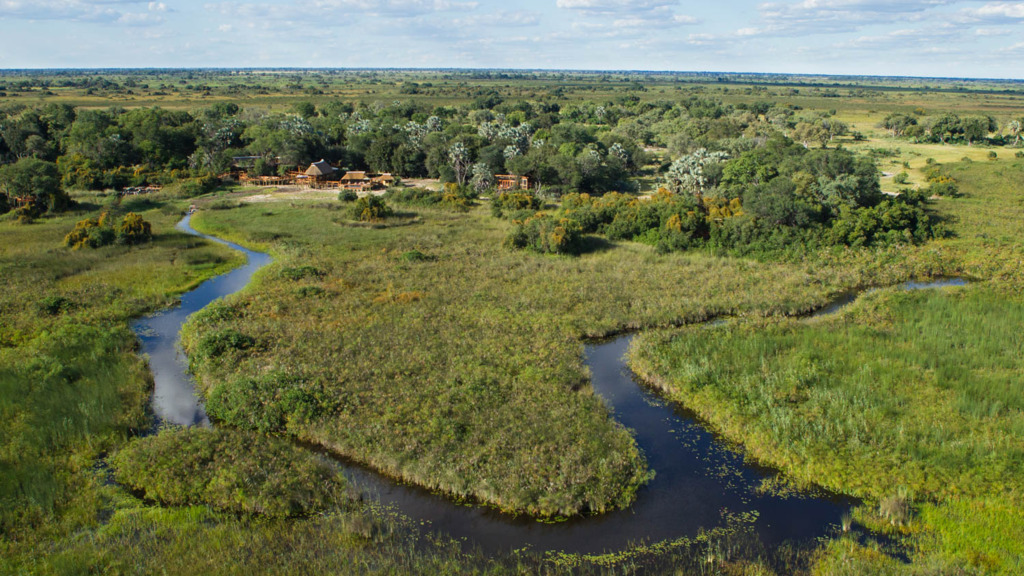 Header Botswanas Wildnis | Abendsonne Afrika