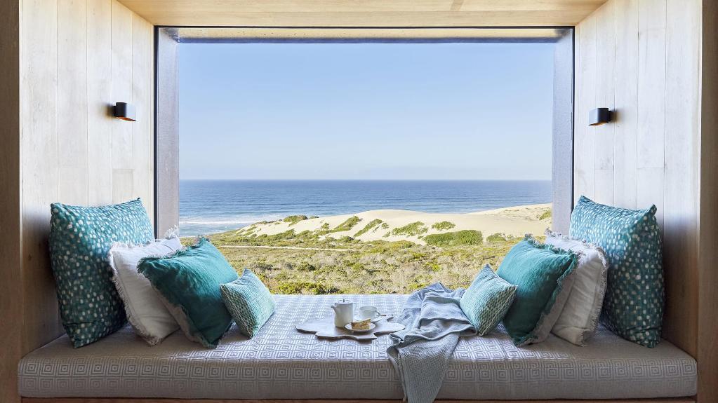 Ausblick vom Morukuru Beach Lodge in Südafrika | Abendsonne Afrika