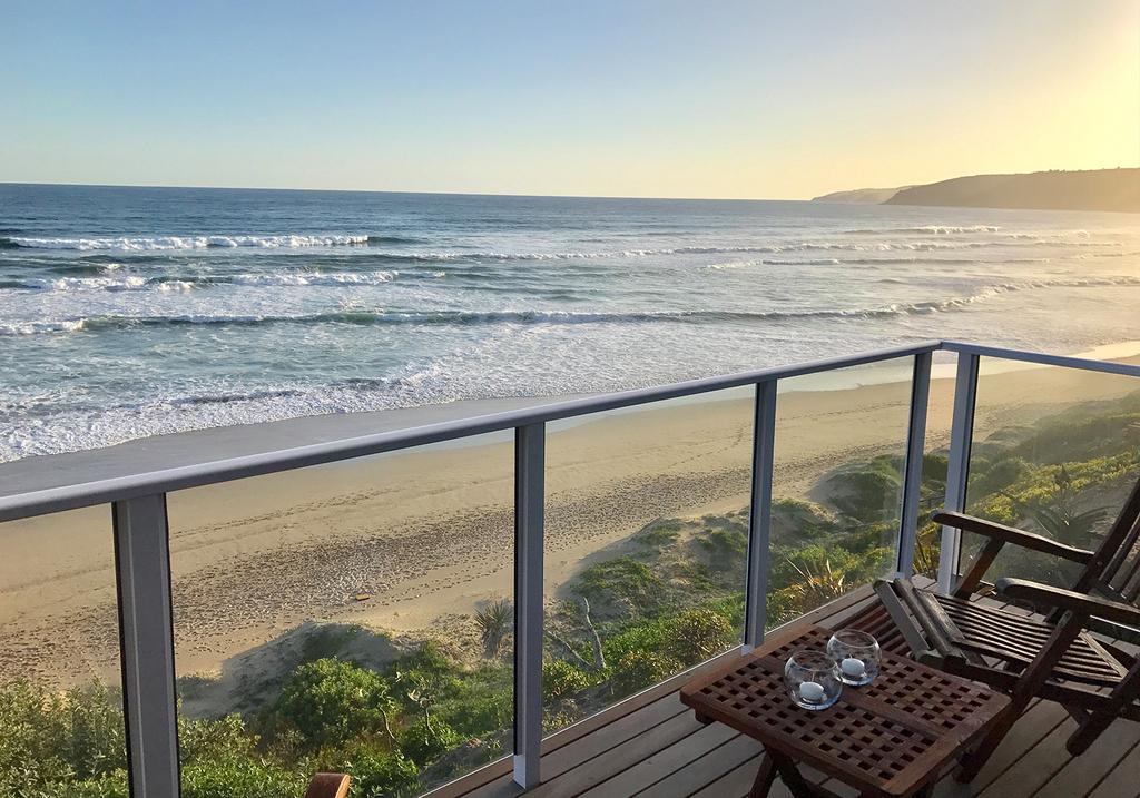 Sea Sand Room des Dune Beach House in Südafrika   Abendsonne Afrika