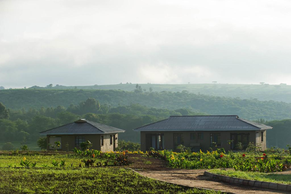 Garten des Farm House Valley in Tansania | Abendsonne Afrika GmbH