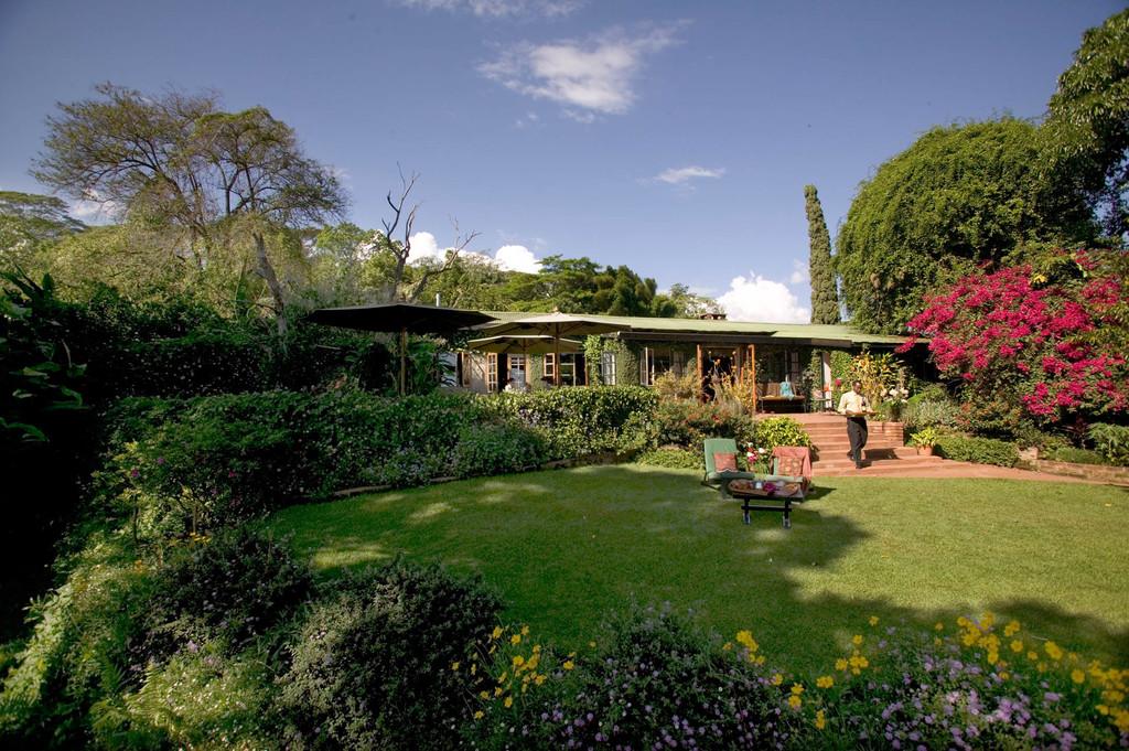 Garten der Gibb's Farm in Tansania | Abendsonne Afrika GmbH