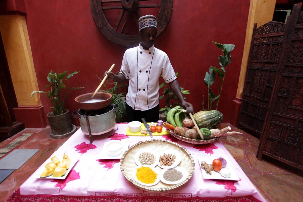 Kochkurs im Jafferji House auf Sansibar | Abendsonne Afrika