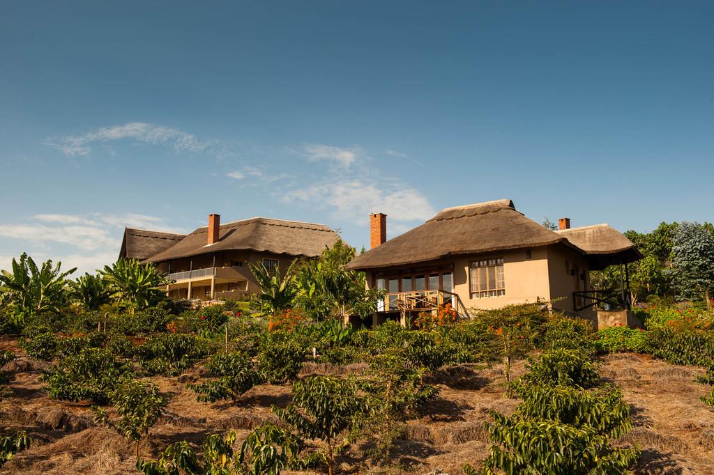 Cottages der Kitela Lodge in Tansania   Abendsonne Afrika GmbH