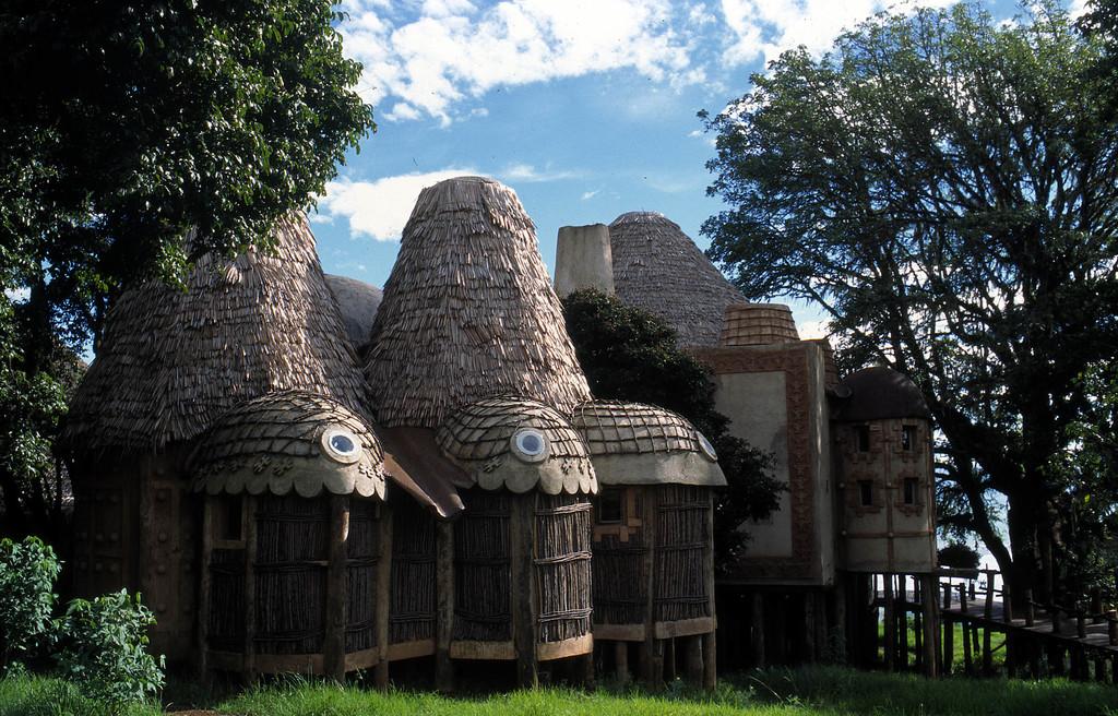 Chalet der Nungubane Lodge in Südafrika | Abendsonne Afrika