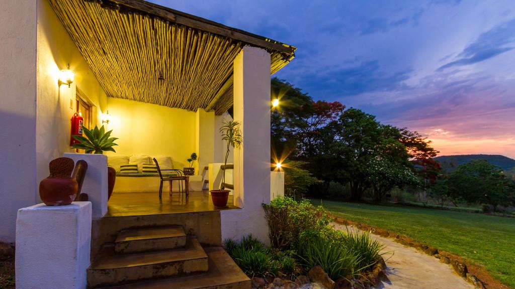 Garden Suite des Rissington Inn in Südafrika | Abendsonne Afrika