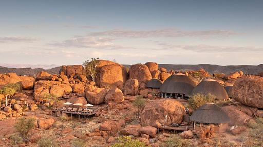 Mowani Mountain Camp | Abendsonne Afrika