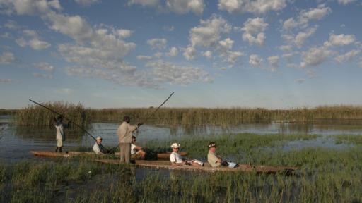 Botswana Explorer - deutschsprachig | Abendsonne Afrika