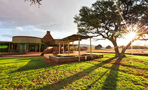 We Kebi Safari Lodge | Abendsonne Afrika