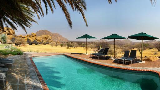 Ai-Aiba Lodge | Abendsonne Afrika