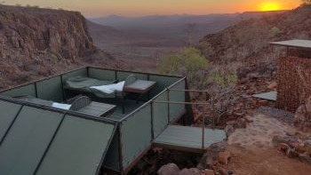Wanderreise Namibia | Abendsonne Afrika