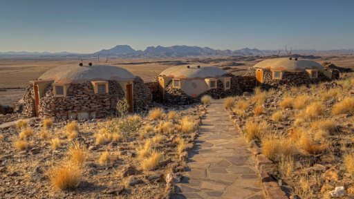 Rostock Ritz Desert Lodge | Abendsonne Afrika