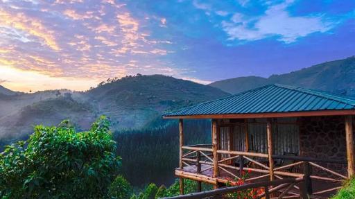 Rushaga Gorilla Camp | Abendsonne Afrika