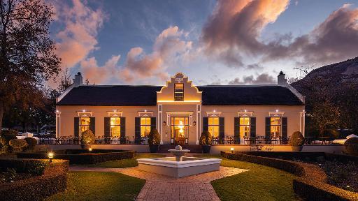 Grande Roche Hotel | Abendsonne Afrika