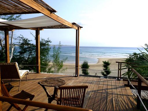Baia Sonambula Guest House   Abendsonne Afrika