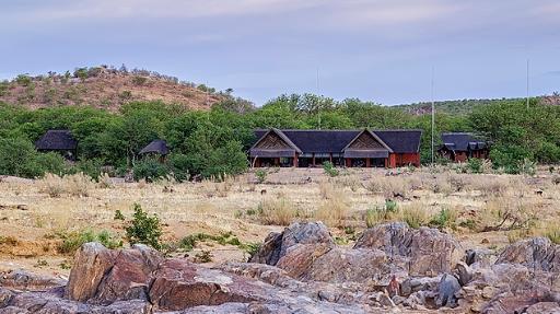 Hobatere Lodge | Abendsonne Afrika