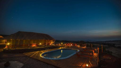 Karatu Simba Lodge | Abendsonne Afrika