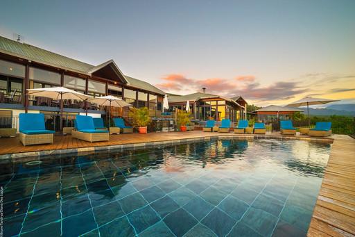 Diana Dea Lodge | Abendsonne Afrika