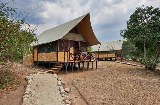 The Bush Lodge | Abendsonne Afrika