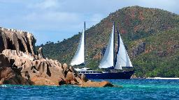 Segel-Kreuzfahrt auf den Seychellen | Abendsonne Afrika