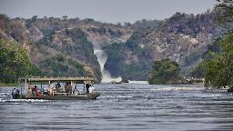 Bootstour zu den Murchison Falls in Uganda | Abendsonne Afrika