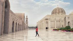 Große Sultan-Qabus-Moschee, Oman | Abendsonne Afrika