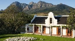 Cottage im Babylonstoren Hotel in Südafrika | Abendsonne Afrika