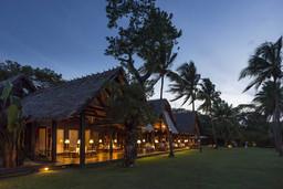 Abendessen im Anjajavy Hotel auf Madagaskar | Abendsonne Afrika