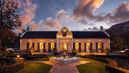 Hauptgebäude Grand Roche Hotel, Südafrika