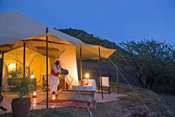 Abends im Cottars in Kenia | Abendsonne Afrika