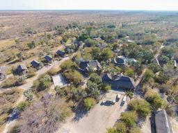 Die Weiten vor der Nata Lodge in Botswana | Abendsonne Afrika