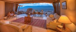 Abendessen der Saruni Samburu Lodge in Kenia | Abendsonne Afrika