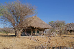 Zelt des Whistling Thorn Camp in Tansania | Abendsonne Afrika